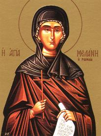 Icon of St. Melanie