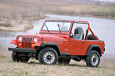 1991 Jeep Wrangler (stock photo)